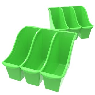 Inexpensive Small Stackable Cubby Bin (Set of 6) By Storex
