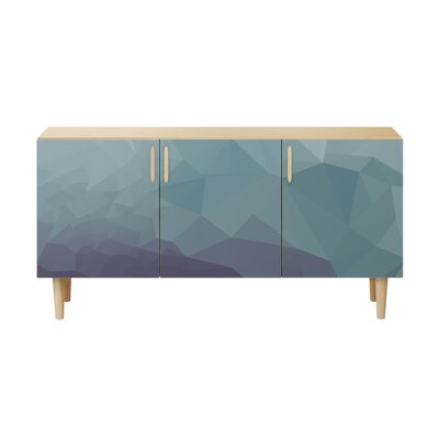 Modern Brass Amp Brown Sideboards Buffets Allmodern