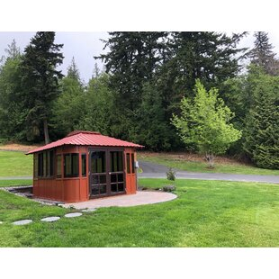 Aspen Ultrawood 13 Ft. W x 11 Ft. D Solid Wood Patio Gazebo by Westview Manufacturing