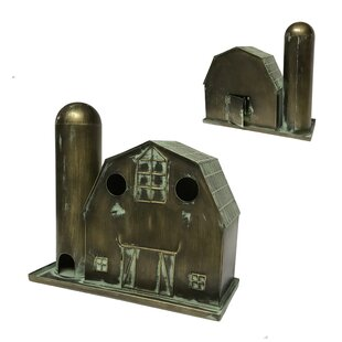 Wilco Home Barn and Silo Feeder 14 in x 15.5 in x 6.25 in Birdhouse