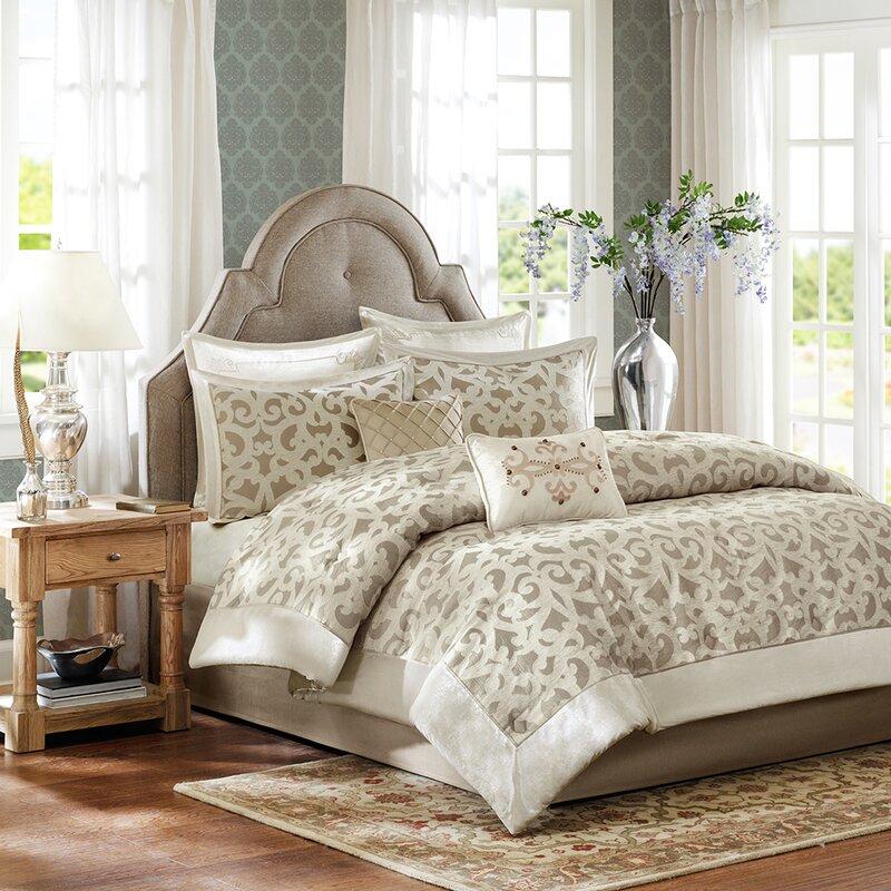a02723c71dbf Madison Park Signature Kingsley Comforter Set & Reviews | Wayfair