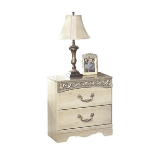 Johnby 2 Drawer Nightstand by Astoria Grand