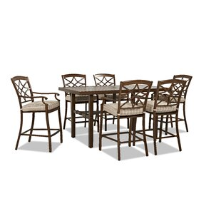 Outdoor 7 Piece Dining Set with Cushions by Trisha Yearwood Home Collection