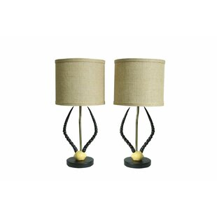 Cody Horn 17 Table Lamp (Set of 2)