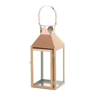 Reviews Glass/Metal Lantern By Winston Porter