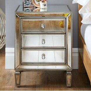 Blaine 3 Drawer Bedside Table By Willa Arlo Interiors