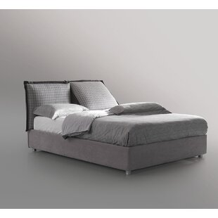 King Upholstered Storage Platform Bed By Respace