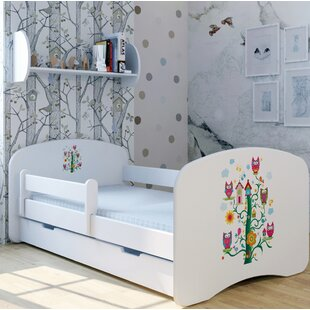 Treehouse Bed With Mattress And Drawer By Zoomie Kids