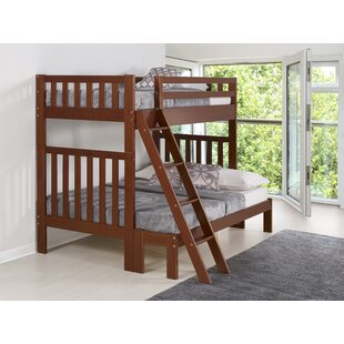 Crescent Twin Over Full Bunk Bed by Harriet Bee 2019 Coupon