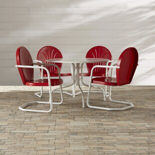 Mercury Row Timothea 5 Piece Dining Set