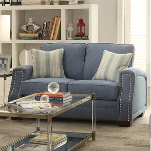 Violet Loveseat by Longshore Tides Fresh
