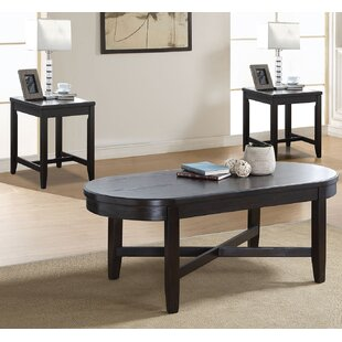Dimitri 3 Piece Coffee Table Set
