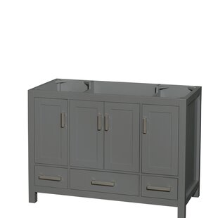 Price comparison Sheffield 48 Single Bathroom Vanity Base Only By Wyndham Collection