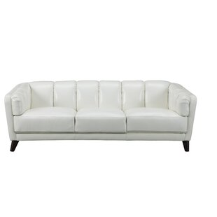 Zainab Craft Leather Sofa