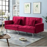 Red Gingham Sofa | Wayfair