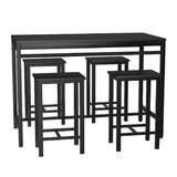 Daxson 5 - Piece Dining Set by Latitude Run®