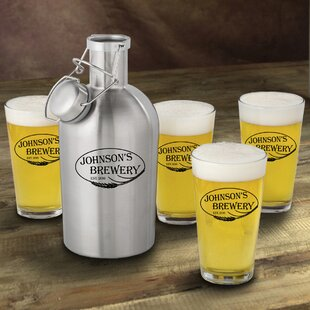 Weizen Personalized 5 Piece Beverage Serving Set