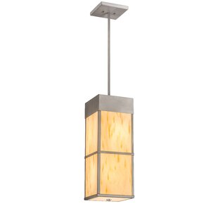 Kyoto 4-Light Square/Rectangle Pendant by Meyda Tiffany