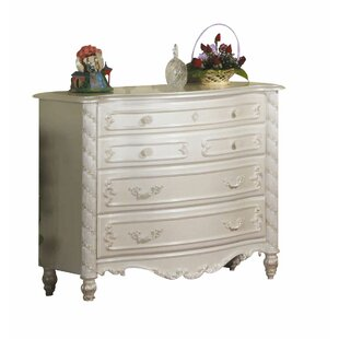 Eckenrode 4 Drawer Dresser by Harriet Bee