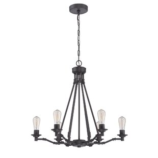 Williston Forge Glennon 6-Light Chandelier
