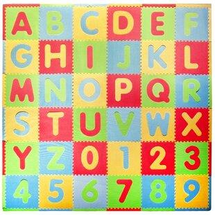 Shop For Tadpoles 36 Piece ABC Playmat Set ByTadpoles