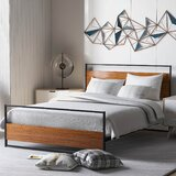 Pinkerton Full/Double Low Profile Platform Bed by 17 Stories