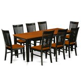 Pilger Solid Wood Dining Set by August Grove®