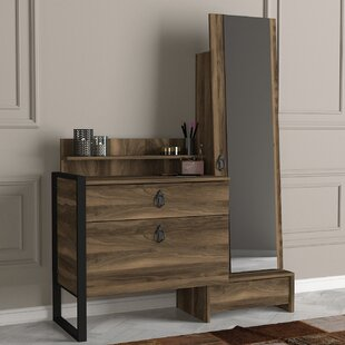 Taylor Dressing Table With Mirror By Union Rustic