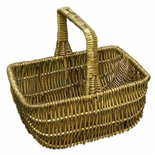 Southport Shopping Wicker Basket By Brambly Cottage