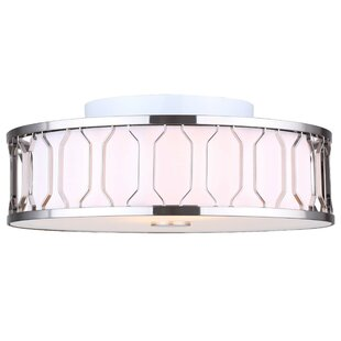 Salzman 2-Light Semi Flush Mou..