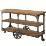 Bodie Industrial Console Table by 17 Stories