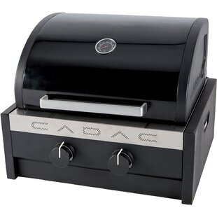 Cadac Tailgater Chef Portable Propane Grill with RV Mounting Bracket