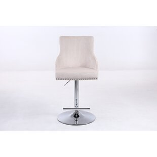 Swifton Height Adjustable Swivel Bar Stool By Canora Grey