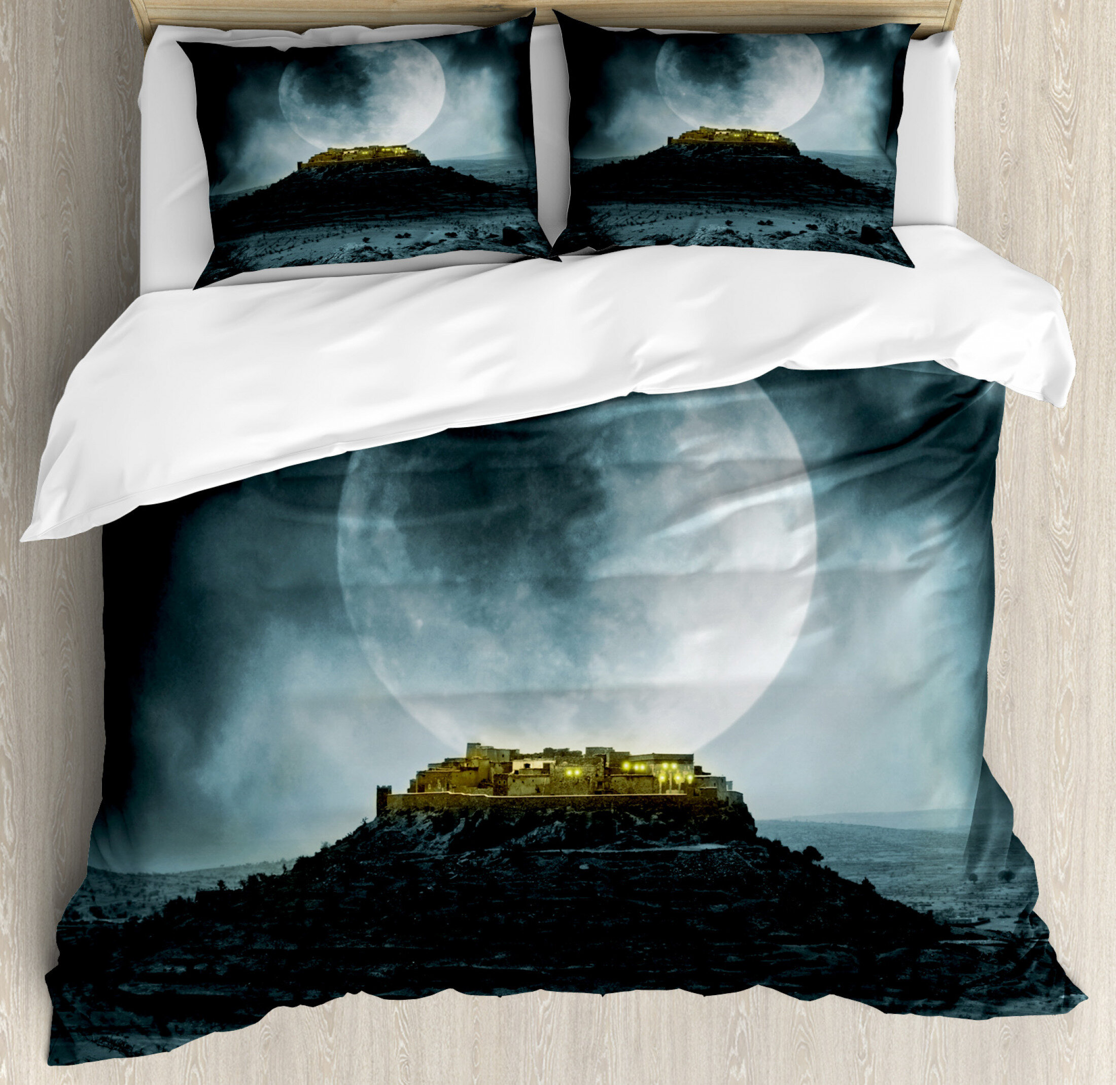 East Urban Home Night Sky Duvet Cover Set Wayfair