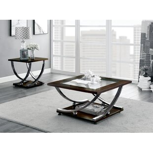 Mullinix 2 Piece Coffee Table Set by Latitude Run