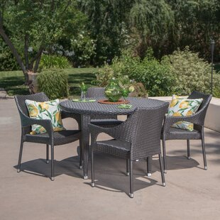 Wenona 5 Piece Dining Set by Alcott Hill