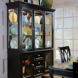 Darby Home Co Weylyn Lighted China Cabinet