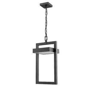 Price comparison Fortune 1-Light Outdoor Pendant By Orren Ellis