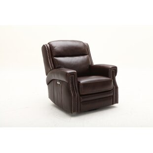 Maxwell Swivel Headrest Power Glider Recliner