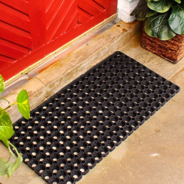 Bon Hollow Rubber Doormat