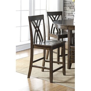 Heffington 24 Bar Stool (Set of 2) Alcott Hill