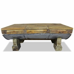 Kempson Solid Reclaimed Wood Coffee Table By Williston Forge