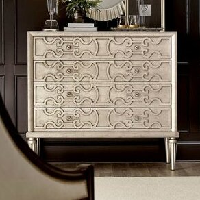 Delahunt 4 Drawer Dresser by Rosdorf Park