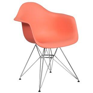Wrought Studio Ressler Modern Plastic Dining Chair