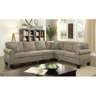 Elmhur Reversible Sectional by Darby Home Co