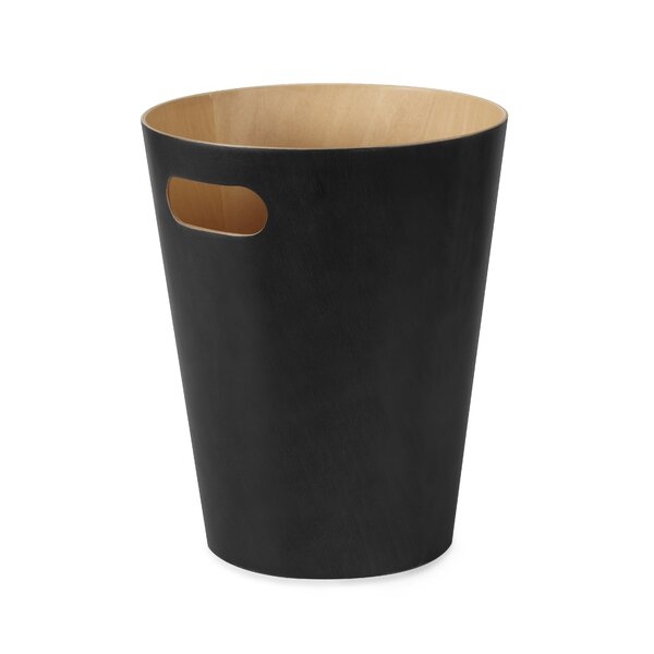 Creative Wrinkle Trash Can without Lid Personalized Waste Paper Box Planter