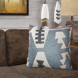 Garvin Geometric Luxury Indoor/Outdoor Lumbar Pillow