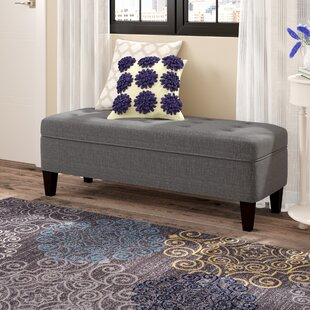 Gaither Upholstered Storage Bench by Andover Mills