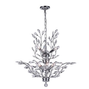CWI Lighting Ivy 9-Light Candle Style Chandelier