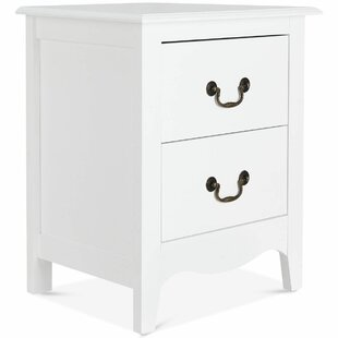 Lunsford 2 Drawer Nightstand